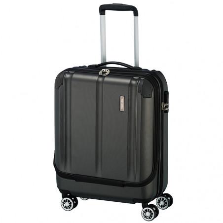Travelite City Handbagage Businesswheeler 55cm Antraciet