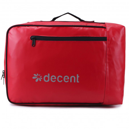 Decent Backside 6001 Laptop Rugzak Rood
