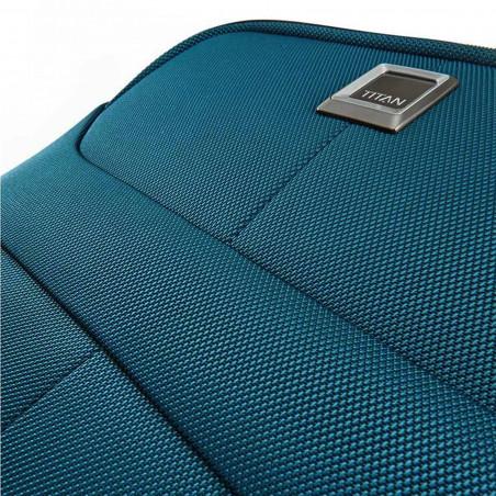 Titan Nonstop 4 Wiel Koffer 68cm Expandable Petrol Blauw