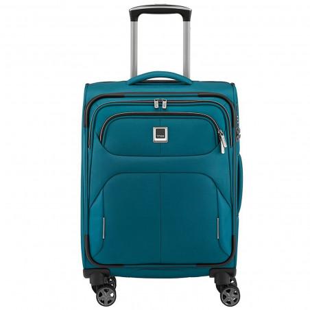 Titan Nonstop 4 Wiel Handbagage Koffer 55cm Petrol Blauw