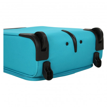 Travelite Cabin 2 Wiel Handbagage Koffer Turquoise