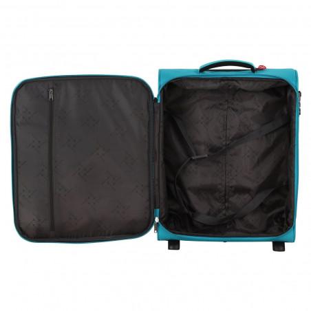Travelite Cabin 2 Wiel Handbagage Koffer Zwart