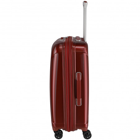 Travelite Elbe 4 Wiel Koffer 66cm Expendable Rood