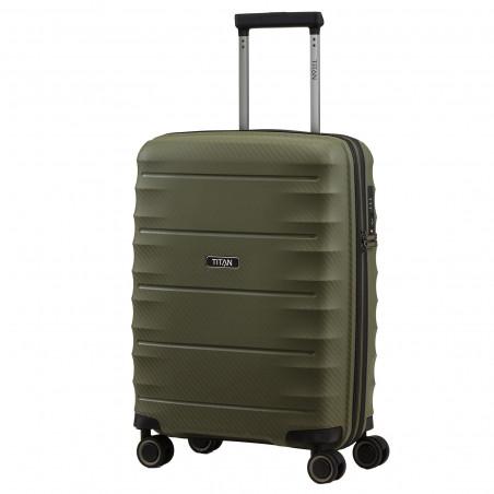 Titan Highlight Handbagage Koffer 55cm Khaki Groen
