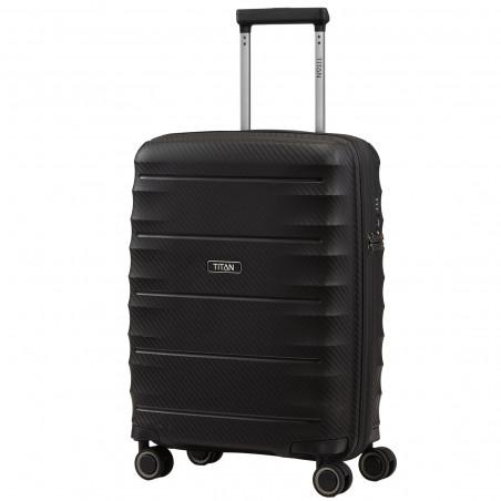 Titan Highlight Handbagage Koffer 55cm Zwart