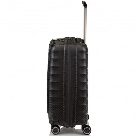 Titan Highlight Handbagage Koffer Met Voorvak 55cm Zwart