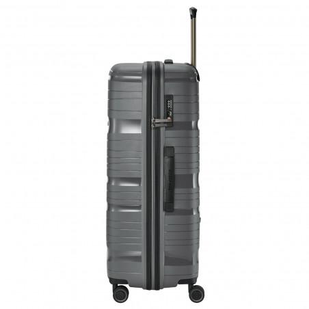 Travelite Motion 4 Wiel Koffer 77cm Antraciet