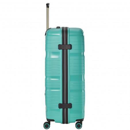 Travelite Motion 4 Wiel Koffer 77cm Mint