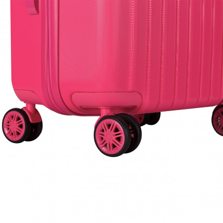 Decent Tranporto One Handbagage Koffer 55cm Roze