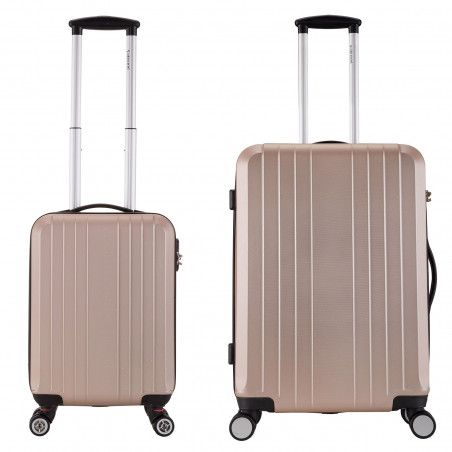 Decent Tobi-Line kofferset van 2 Zalm