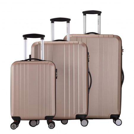 Decent Tobi-Line kofferset van 3 Zalm