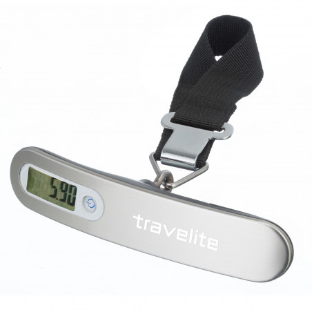 Travelite Digitale Kofferweegschaal Aluminium
