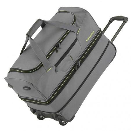 Travelite Basics Reistas met Wielen Duffle 55cm Expendable Grijs/Groen