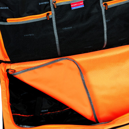 Decent Sport Line Reistas Dubbeldekker Oranje