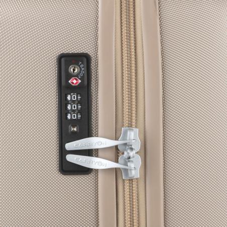 CarryOn Skyhopper Handbagage Koffer 55cm Champagne