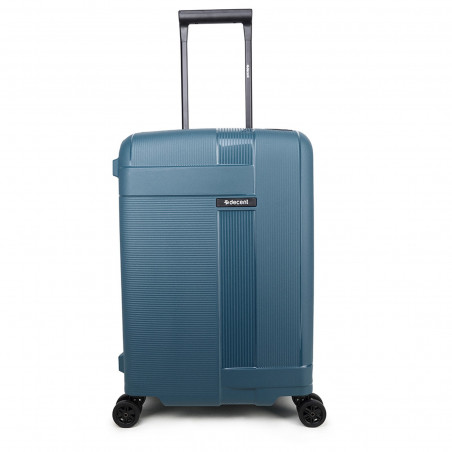 Decent Transit Handbagage Koffer 55cm Petrol Groen