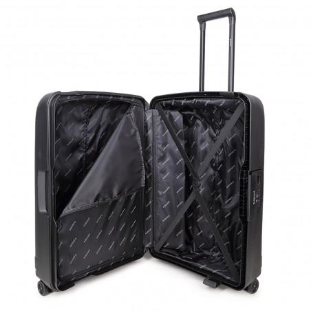 Decent Transit Handbagage Koffer 55cm Zwart