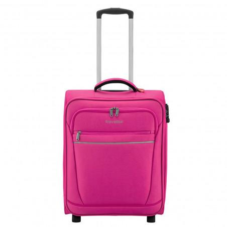 Travelite Cabin 2 Wiel Handbagage Koffer Roze