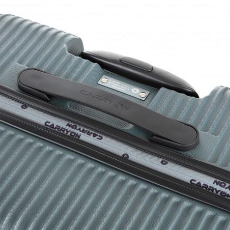 Carryon Connect Handbagage Koffer 4 Wiel 55cm Donkergrijs