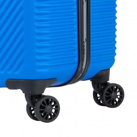 Carryon Connect Handbagage Koffer 4 Wiel 55cm Blauw