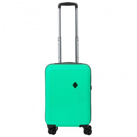 Carryon Connect Handbagage Koffer 4 Wiel 55cm Groen
