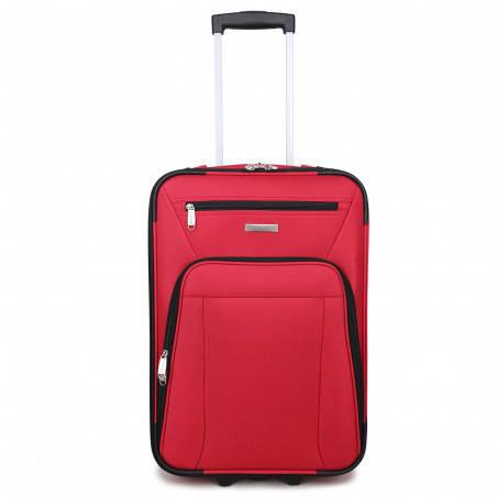 Decent Basic Line Handbagage Koffer 53cm Upright Rood BT