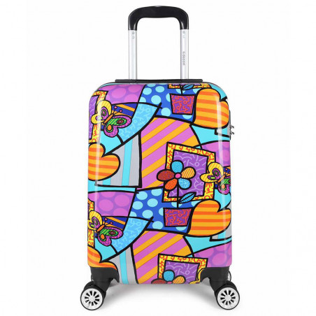 Decent Forenza Handbagage Koffer 55cm Hearts