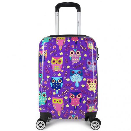 Decent Forenza Handbagage Koffer 55cm Owls
