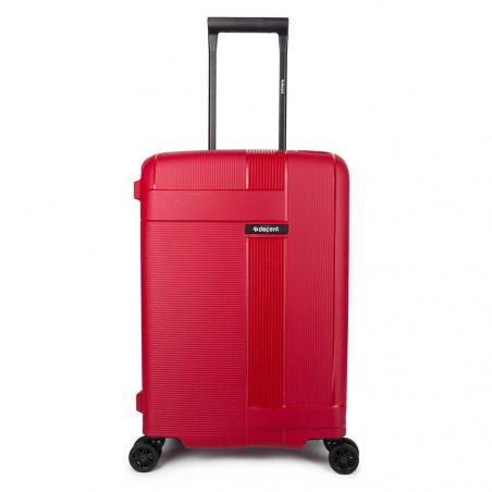 Decent Transit Handbagage Koffer 55cm Rood