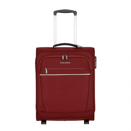 Travelite Cabin 2 Wiel Handbagage Koffer Bordeaux