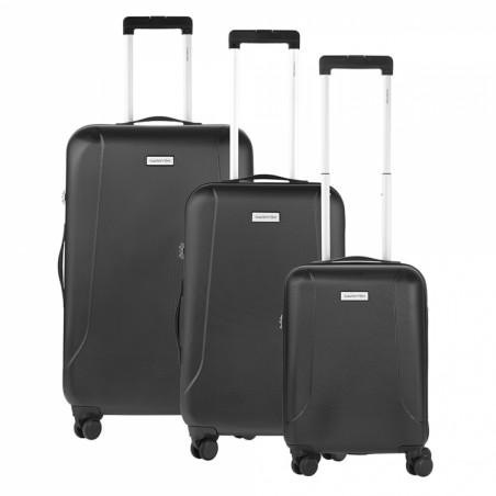 CarryOn Skyhopper Kofferset van 3 Zwart