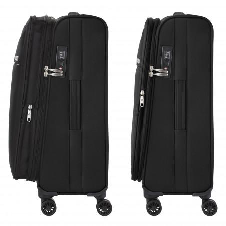 CarryOn Air Handbagage Trolley 55 cm Zwart